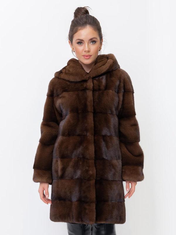 Шуба из норки Kopenhagen Fur Donatella 1000678