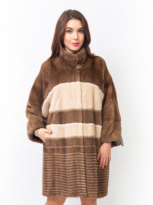 Шуба из норки Kopenhagen Fur Scandinavia furs 1001188