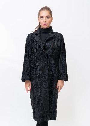 Меховое пальто из каракульчи Bourtsos 1001388