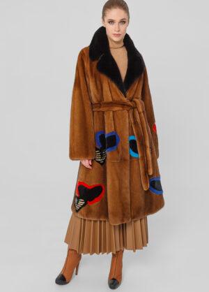 Меховое пальто из норки Luxor 1001894