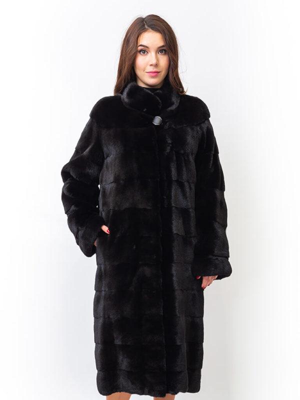 Меховое пальто из норки  Finezza 1001657