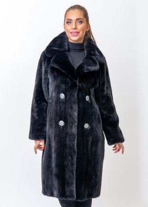 Меховое пальто из норки Luxorfurs 1001888