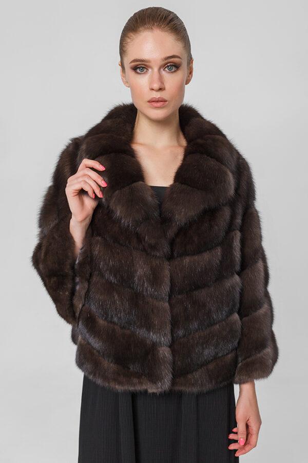Меховая куртка из соболя Active 1002156