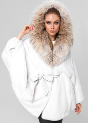 Меховая куртка из норки Manolis-Sons 1002162