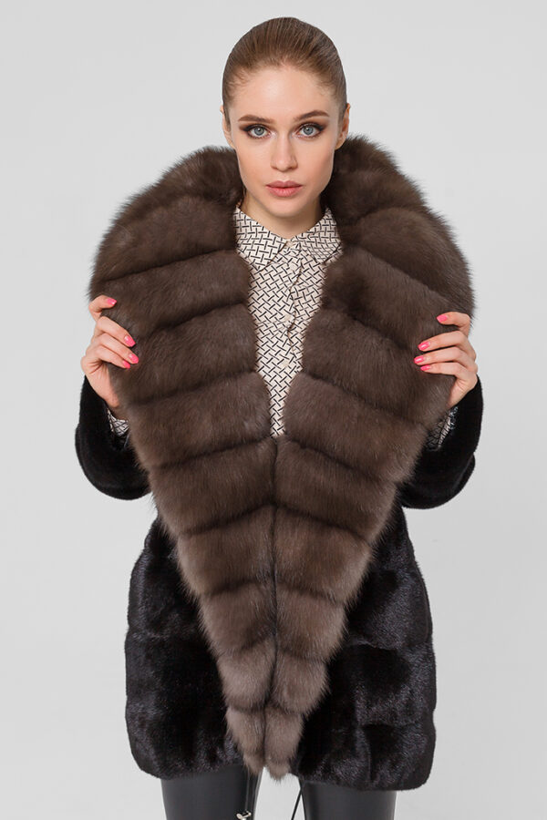 Меховая куртка из норки Casiani 1002133