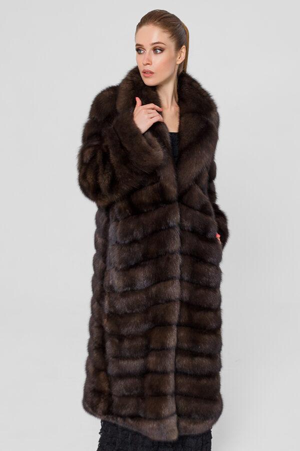 Меховое пальто из соболя Casiani 1002146