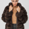 Меховая куртка из соболя DueFratelli 1002160